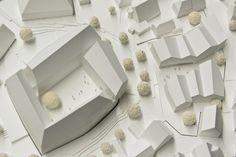 1. Preis Bürgerzentrum: Modellfoto, © Auer Weber