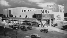 A Houston Time Capsule: The Sears Building Unveiled Main Street, Street View, Window Display Retail, Window Displays, Store Displays, Retail Displays, Merchandising Displays, Chicago Photos, New Neighbors