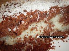 Bolo Caseiro Gelado de Chocolate