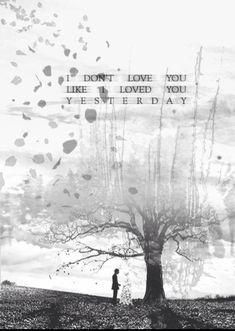 i don't love you~ mcr.