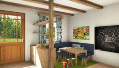 Spielecke Studio, Divider, Entryway, Furniture, Home Decor, Timber Wood, Entrance, Decoration Home, Room Decor