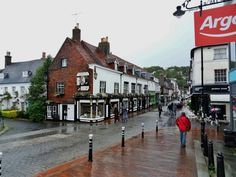 Photo of Lewes, by Fred in't Hout - Pictures of England Royalty Free Stock Photos