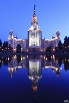 Moscow University, Vorobievy Gory.