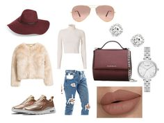"""KreationzByMiyahMarie"" by princess-zamiyah on Polyvore featuring ASOS, NIKE, Givenchy, Halogen, Kate Spade, A.L.C. and Ray-Ban"