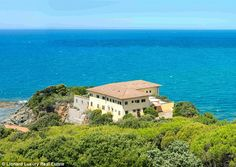 Changing hands: A luxury villa famous for  being the summer residence of the Bulgari famil...