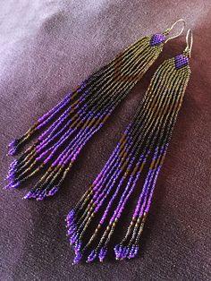 Royal Purple Golden Glow Medium length от MauiSwanDesigns