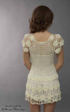 andrea croche: vestido de croche