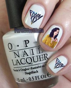 Katy Perry Prism Nail Decals by PureEffectNails on Etsy, $4.00