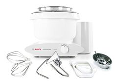 Bosch MUM6N10UC Universal Plus Stand Mixer 800 Watt 65Quarts with Bowl Scraper and Cookie Paddles * Learn more by visiting the image link.