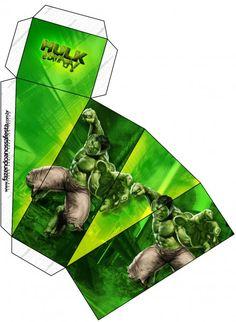 Caixa Fatia Hulk: