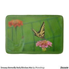 Dreamy Butterfly Bath/Kitchen Mat Bath Mats