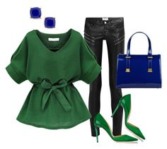 """""""Autumn 7."""" by szunda on Polyvore featuring Yves Saint Laurent, Jimmy Choo, Ted Baker and BP."""
