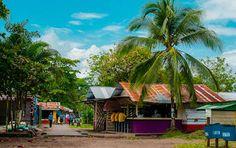 Tortuguero Village in Costa Rica