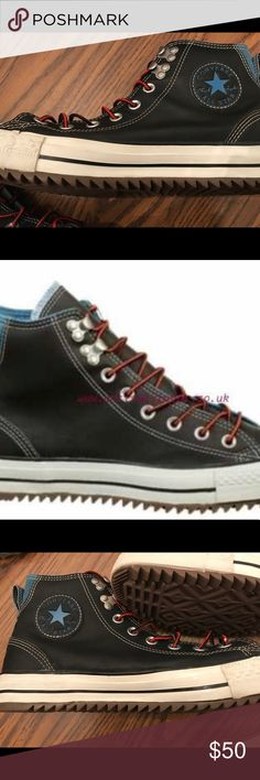 fed1f47ae35a Converse City Hikers size 9 men 11 women Converse black blue chuck Taylor  trainers city