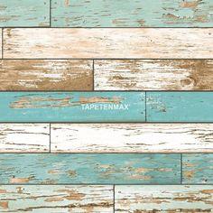 Reclaimed – Rasch-Textil Vliestapete – Tapeten Nr. 022318 in den Farben Türkis jetzt bei TapetenMax® ✔ Schnelle Lieferung ✔ Kostenloser Versand ab 50€