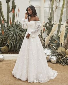 Style BL50 Goldie | Affordable Boho Wedding Dress with Long Cuff Sleeves by Beloved | Beloved By Casablanca Bridal Wedding Dresses Plus Size, Bridal Wedding Dresses, Dream Wedding Dresses, Boho Lace Wedding Dress, Affordable Wedding Dresses, Bridesmaid Gowns, Red Wedding, Wedding Season, Boho Gown