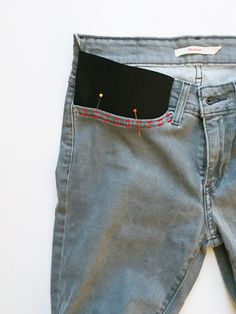 Merrick's Art // Style + Sewing for the Everyday Girl : DIY FRIDAY: MAKE YOUR OWN MATERNITY JEANS
