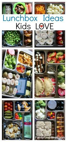 school lunchbox ideas kids love