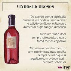 Além de harmonizar com sobremesas, estes vinhos são ótimos como aperitivos!    Que tal provar um deles?