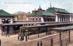 Troy NY train station.
