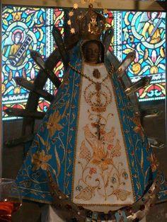 Imagen de la Virgen de Lujan