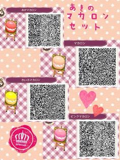 Animal Crossing: New Leaf & HHD QR Code Paths. You Can Find More Patterns in my ACNL path/designs board, New Leaf Outfits board, Bumbury Board, Acnl Tutorial board, Acnl Pic.'s ect Board lol Enjoy =^T^= Animal Crossing Qr, Code Wallpaper, Cute Wallpaper For Phone, Qr Codes, Acnl Halloween, Acnl Qr Code Sol, Kawaii, Flag Code, Acnl Paths