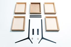 Keiji Ashizawa Design presents a new image of how a modern minimalist dresser should look like. It's not a big or solid structure, it doesn't look heavy Arranging Bedroom Furniture, Small Bedroom Furniture, Bedroom Furniture Makeover, Diy Garden Furniture, Patio Furniture Sets, Furniture Arrangement, Modern Furniture, Furniture Design, Minimalist Drawers