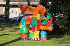 nosorożec - symbol Dortmundu