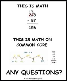 This is not how math should be taught. Common Core at it's most nonsensical.
