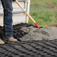 Lighthoof provides horse paddock footing support for a mud-free horse paddock in all weather conditions. Protects your horse paddock footing investment.