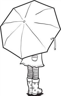 Anasınıfı Şemsiyeli Çocuk Çalışması -Kalıpları ile birlikte- - #Anasınıfı #birlikte #Çalışması #Çocuk #fly #ile #Kalıpları #Şemsiyeli