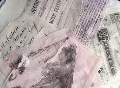 Tissue paper transfers ... Artful Affirmations: Free Video Tutorials