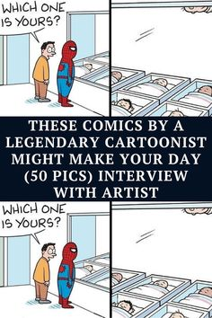 """Mark Parisi is a 59-year-old cartoonist born in New England, and is the creator of his own comic series called """"Off the Mark."""" Funny Jokes And Riddles, Funny Corny Jokes, Punny Puns, Funny Disney Jokes, Funny Fun Facts, Funny School Jokes, Funny Laugh, Extremely Funny Jokes, Terrible Jokes"""