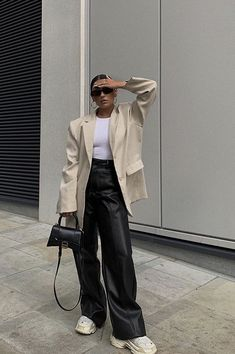 Winter Fashion Outfits, Fall Winter Outfits, Look Fashion, Womens Fashion, Mode Dope, Looks Street Style, Looks Chic, Blazer Outfits, Mode Inspiration