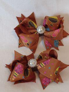 Pinwheel Hairbows/Baby Hairbows/Girls Hairbows/ Basic