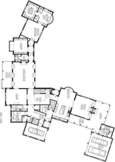 Jack Arnold House Plans   Plans   Pinterest   Jack O    connell    Atlanta Showhouse   designed by Harrison Desig Associates AH amp L Holiday House floorplan by Things That Inspire
