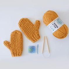 Knitting Blogs, Knitting Patterns Free, Free Knitting, Free Pattern, Knitting Tutorials, Knitted Mittens Pattern, Knit Mittens, Knitted Dolls, Knitted Hats