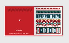 Christmas Osde by Candelaria Ochoa, via Behance