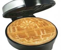 Star Wars Death Start Waffle Iron