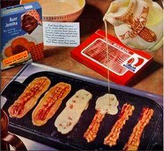 Bacon pancakes! Bacon. Pancakes.