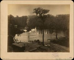 Photo of the Week: Silver Springs, Marion County, Florida,1886 | Florida Verve