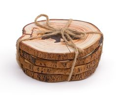 Sous-verres Forest, ens. de 4 Holiday Gift Guide, Holiday Gifts, Cocktail Accessories, Kitchen Store, Wood Coasters, Wood Slices, Decoration, Accent Pieces, Rustic Decor