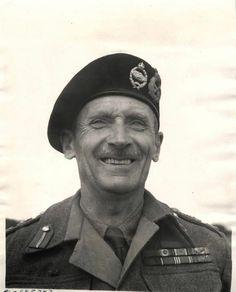 1943- Full-face portrait of General Sir Bernard Montgomery, Commander of British 8th Army.