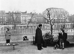 Robert Doisneau - Le Vert - Galant, Parigi, 1950