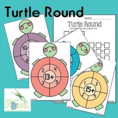 Here's a set of game boards for working on addition and subtraction facts. Includes 20 games boards and a recording sheet.