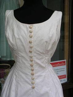 vintage Summer garden party dress Size XS by johannasboudoir, $67.00