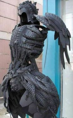 WHOA! Tire Armor. Now I know what to do with all those old bike tires ...