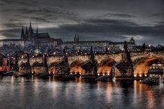 Charles Bridge, Hradcany Castle, Prague