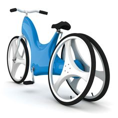 Bicycle Design for People with Disabilities.   Bicycle designer Gavin Smith has come up with a new bicycle design that will help people with disabilities to ride the bicycle independently. Great for people with leg or spine injuries, including pain that can flare when balancing on top of peddling: keep the exercise but remove a barrier especially fall risk.