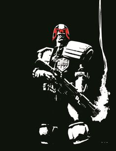 2000 AD 40th Anniversary Special Dreed by David Aja